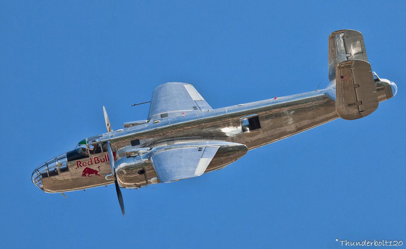 North American B-25J Mitchell N6123C