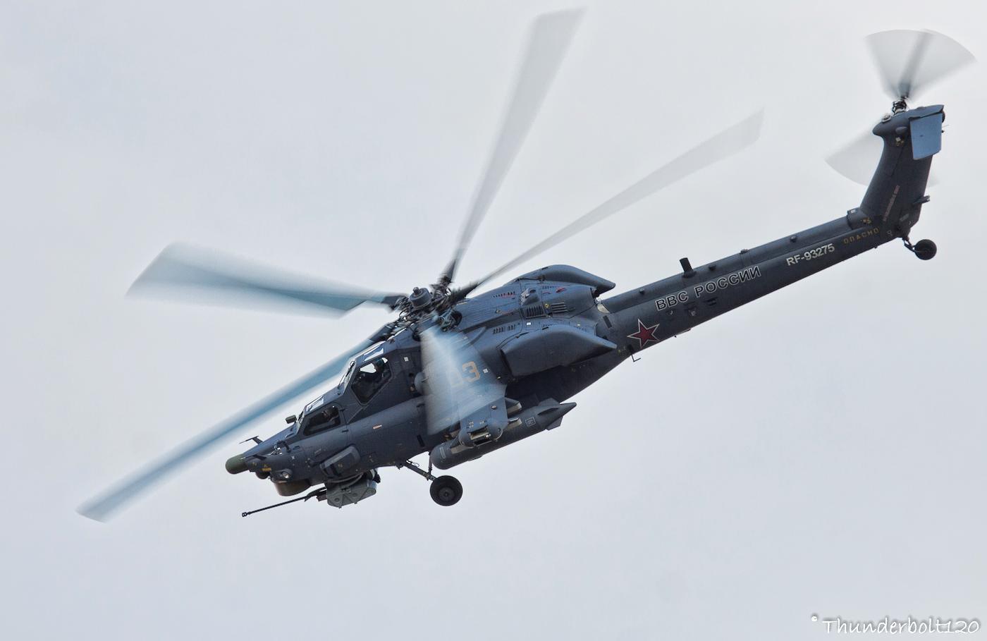 Mil Mi-28NE RF-93275 Berkuts