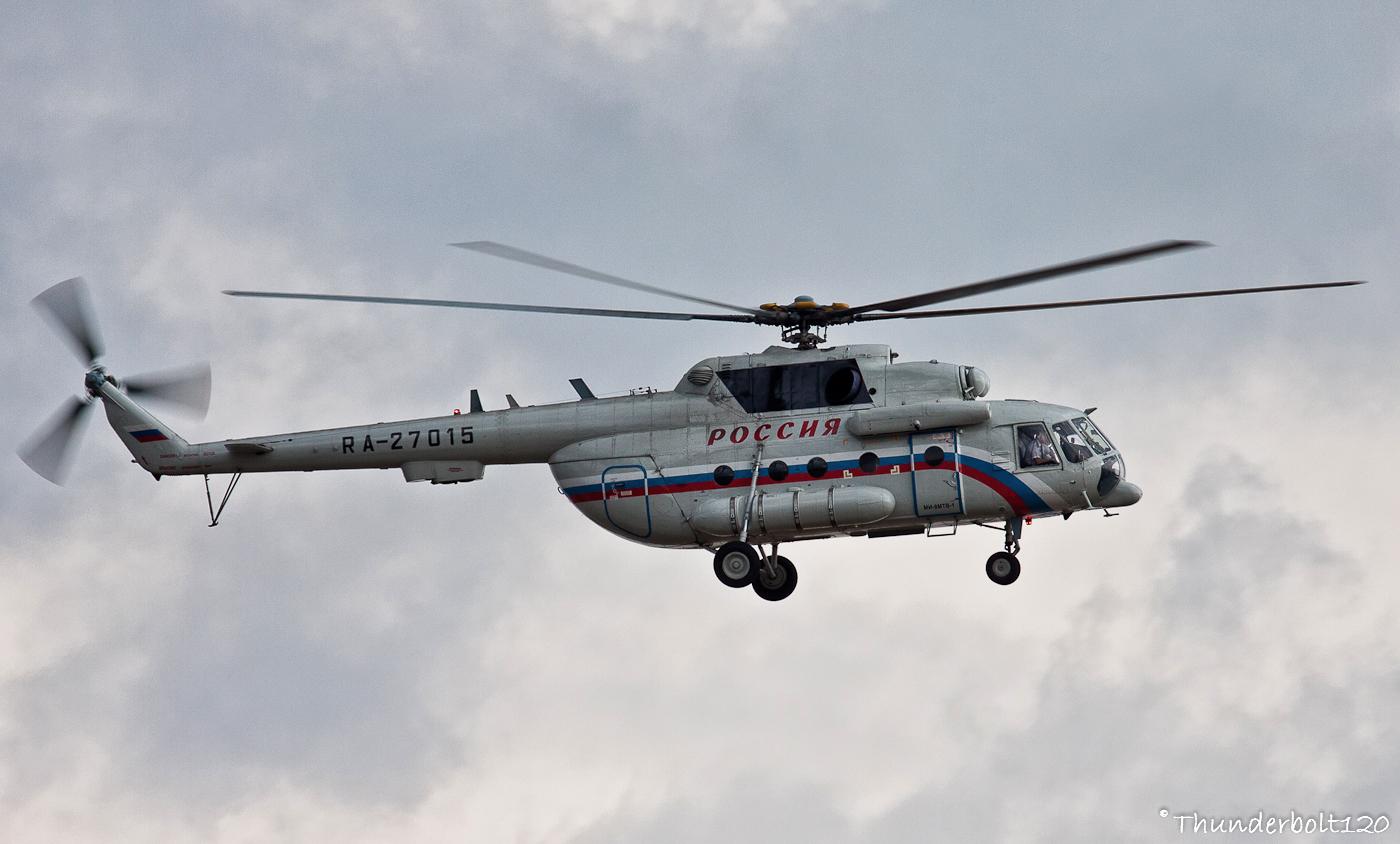 Mil Mi-8MTV-1 Hip RA-27015