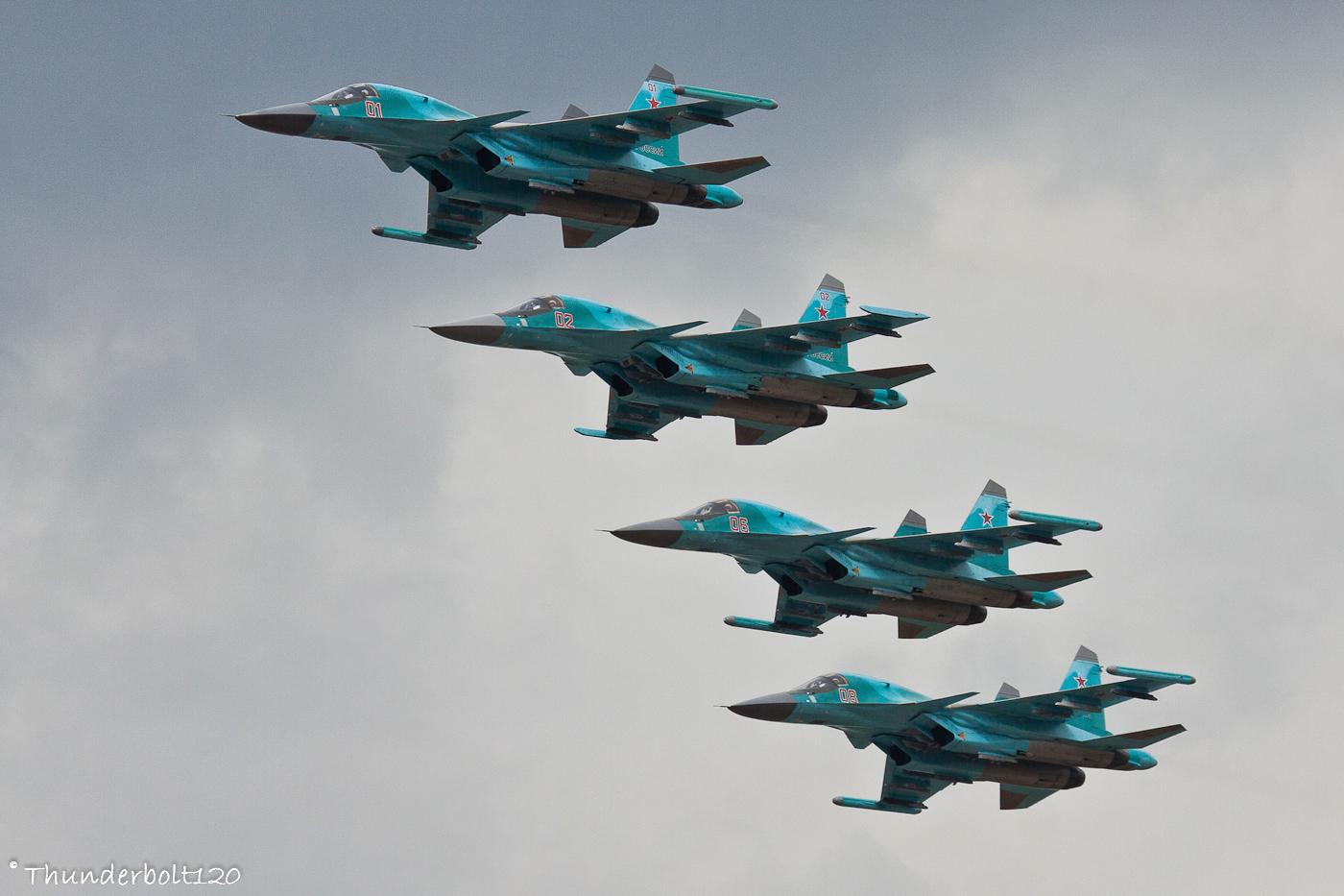 4x Su-34