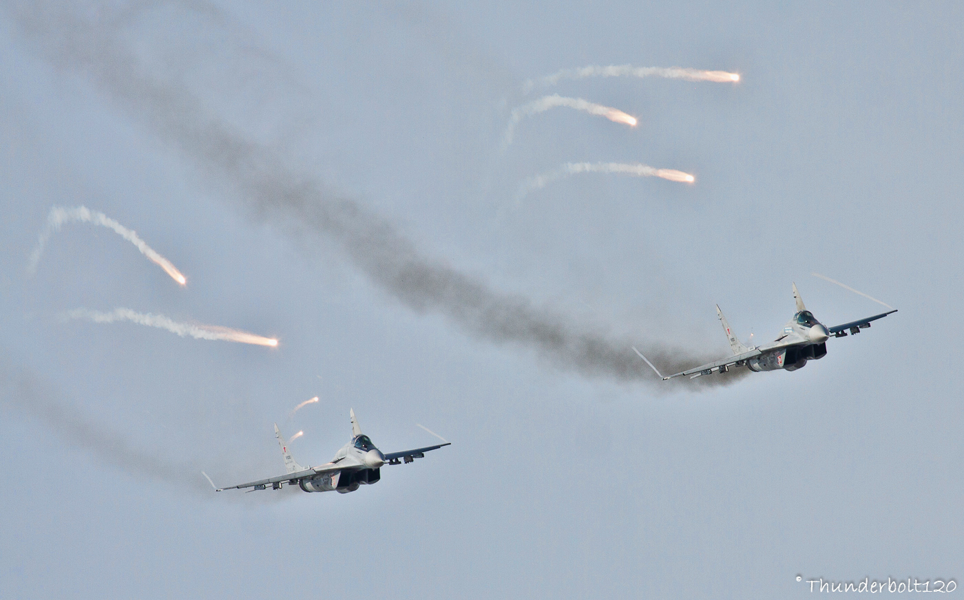 Mig-29 Dogfight