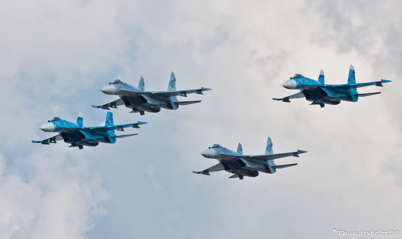 4x Su-27