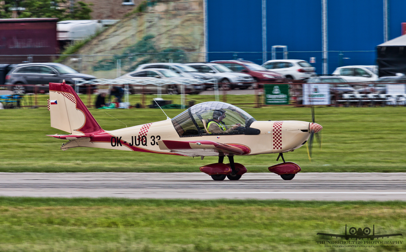 Evektor-Aerotechnik EV-97 Eurostar OK-JUQ 33