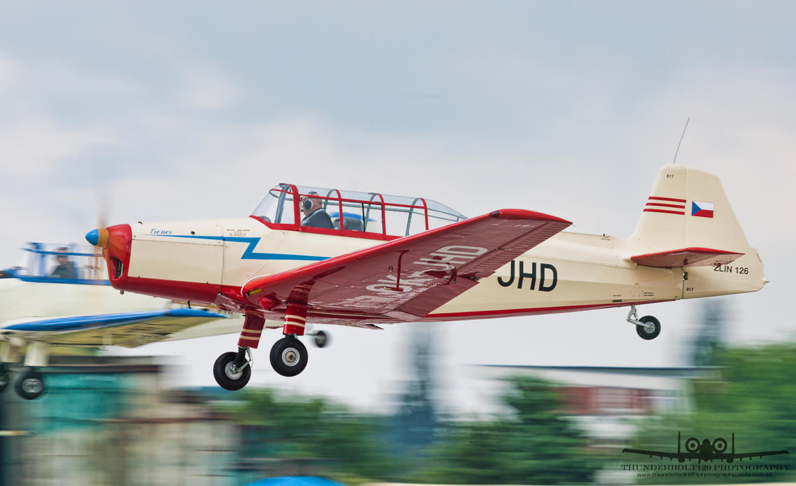 Zlin Z-126 OK-JHD