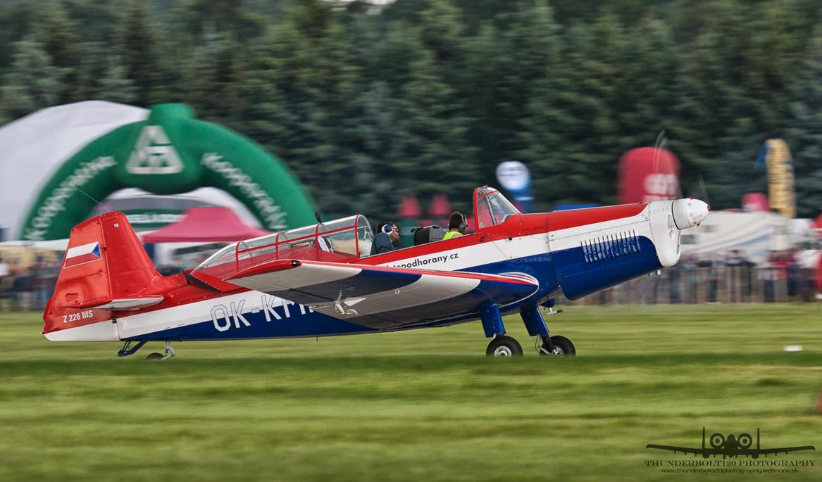 Zlin Z-226MS OK-KMR