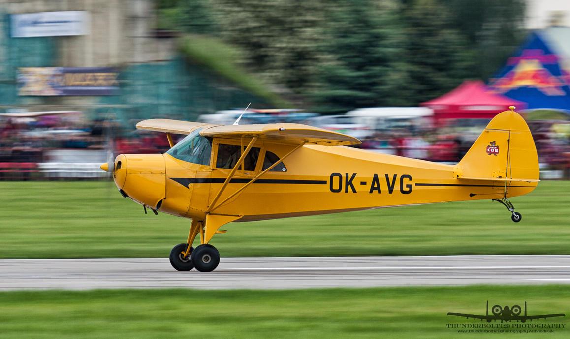 Piper J-4A Cub OK-AVG