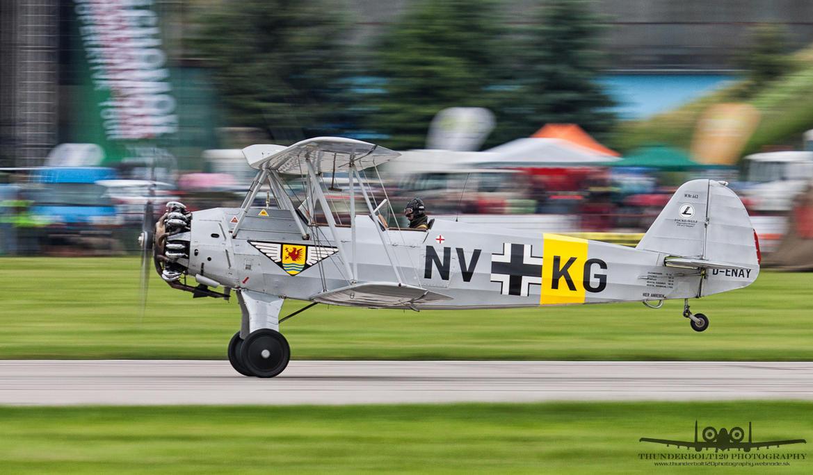 Focke-Wulf (CVV) Sk12 Stieglitz (Fw-44J) D-ENAY
