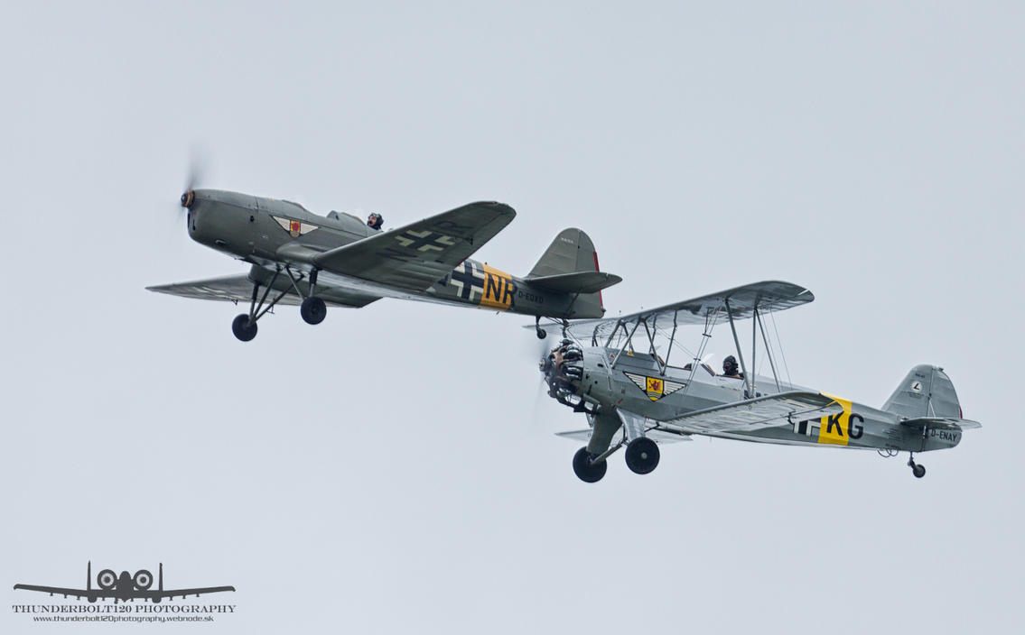 Kl-35D and Fw-44J