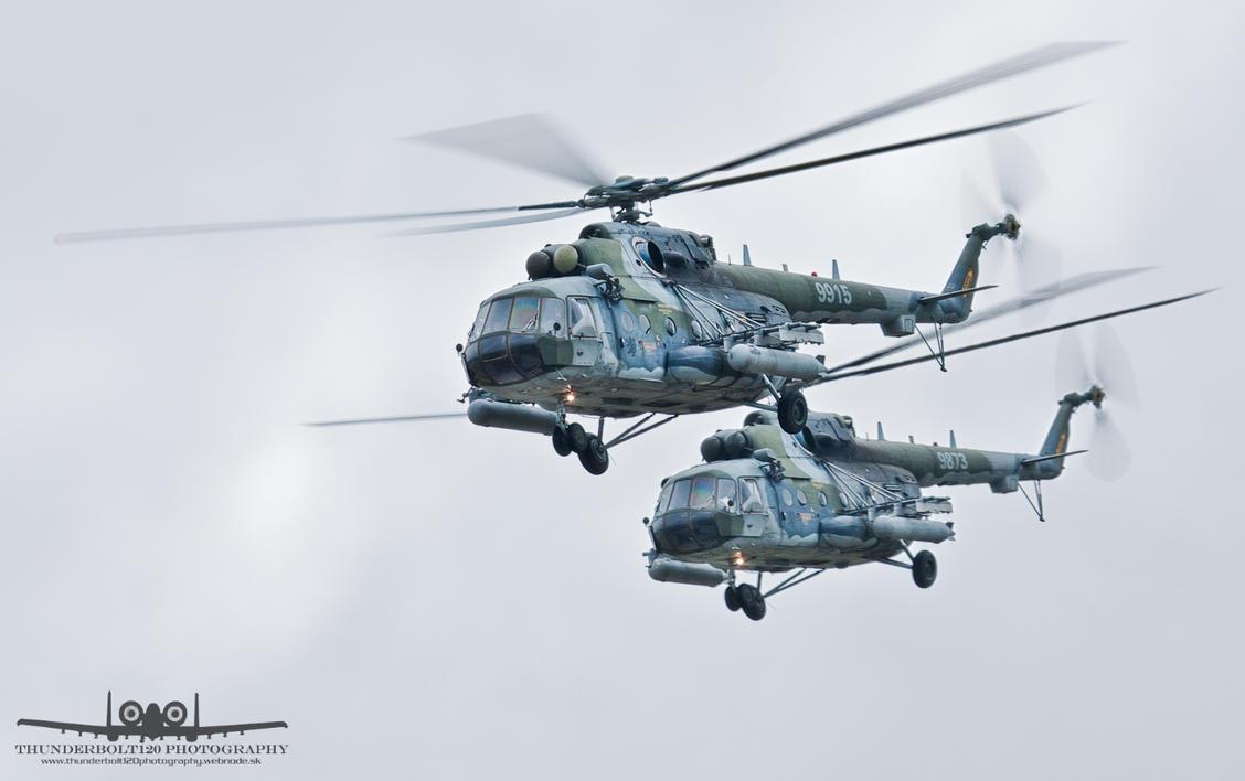 Mil Mi-171S 9915 + 9873