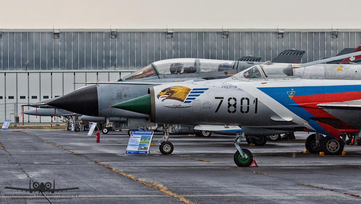 MiG-21MF 7801 and Panavia Tornado ECR 46+28