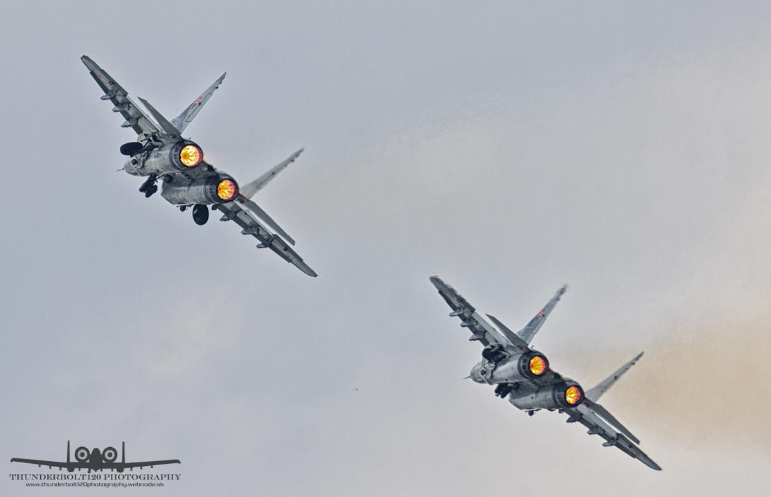 MiG-29AS 3709 and 3911