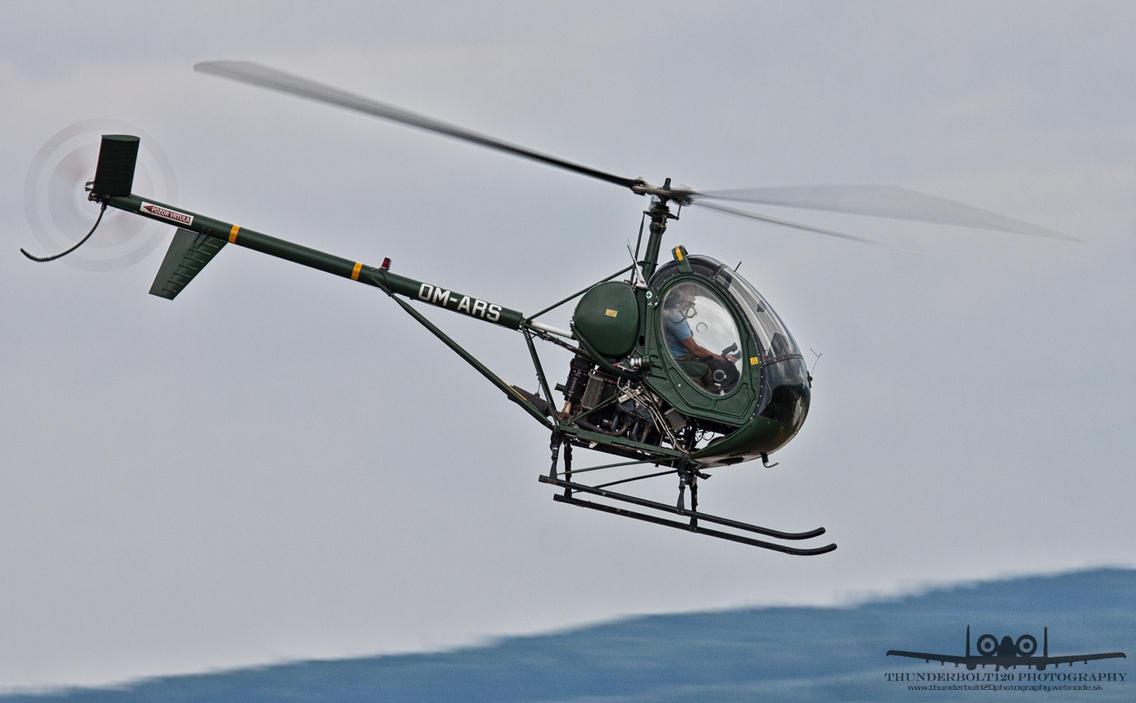 Hughes 269C OM-ARS