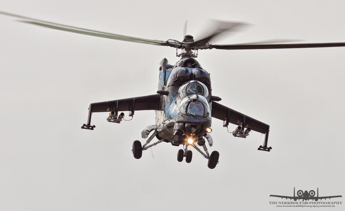 Mil Mi-24V (Mi-35) Hind 7353