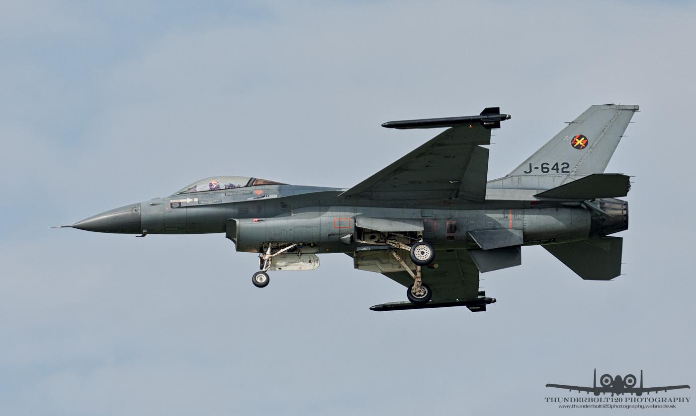Fokker F-16AM Fighting Falcon J-642