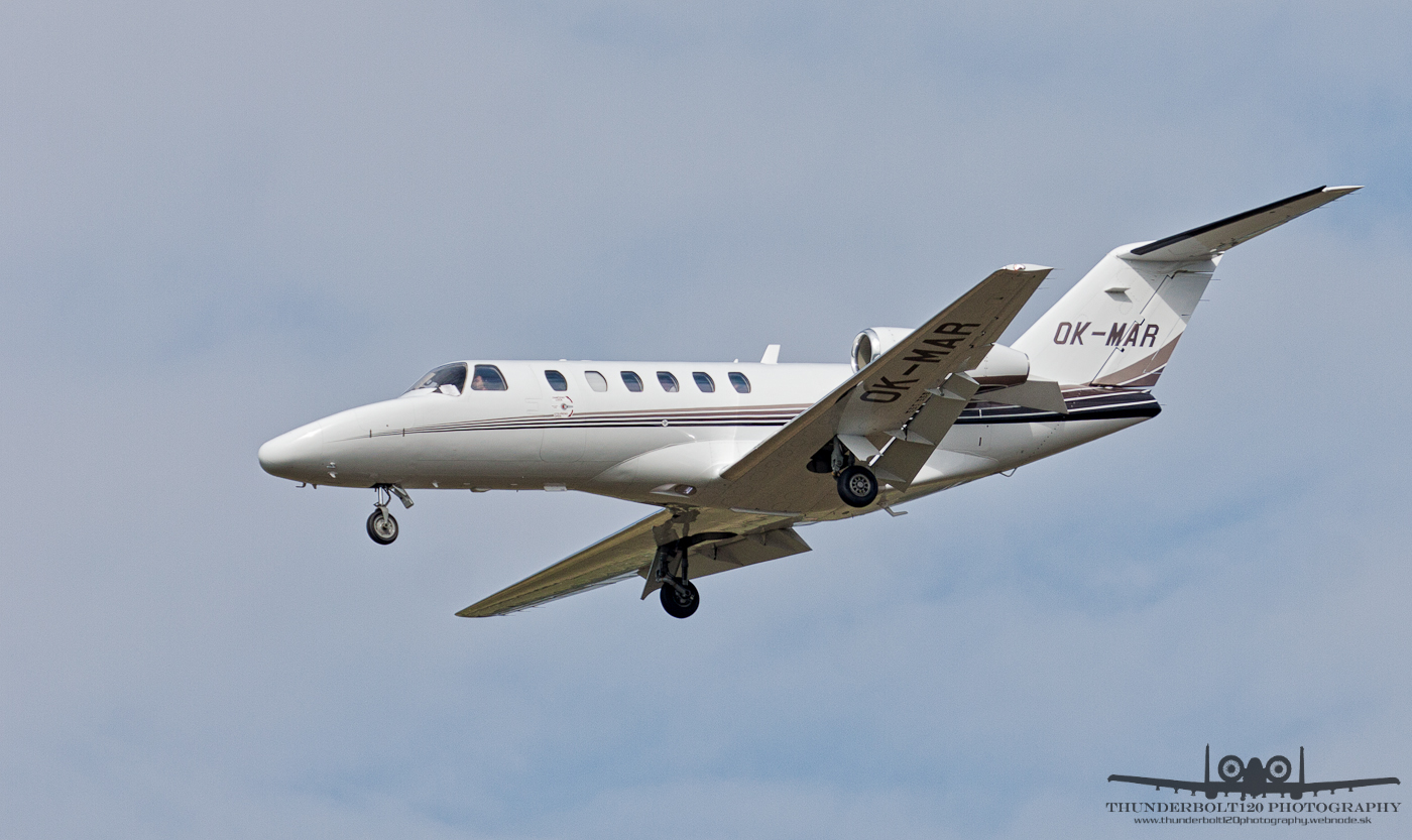 Cessna 525A CitationJet CJ2 OK-MAR