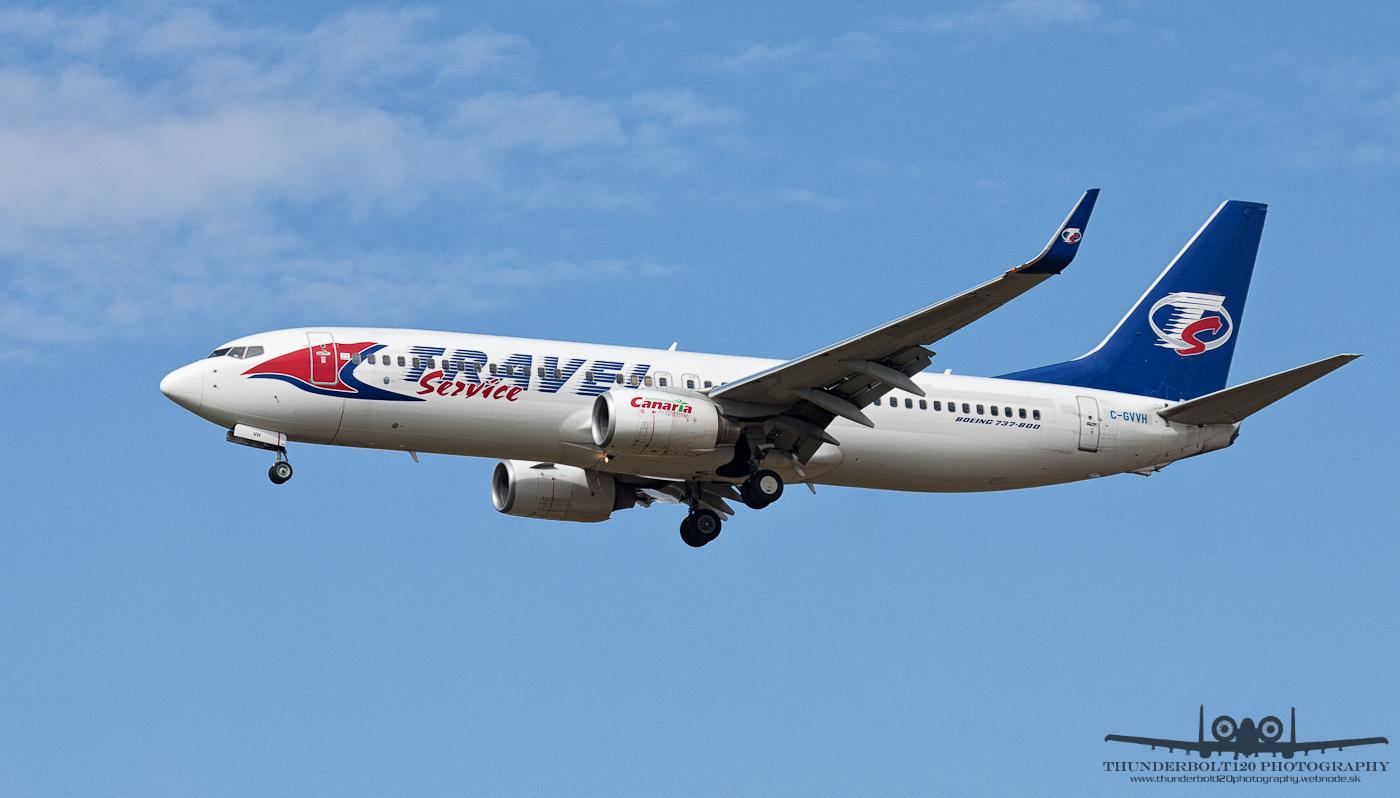 Boeing 737-8Q8 C-GVVH