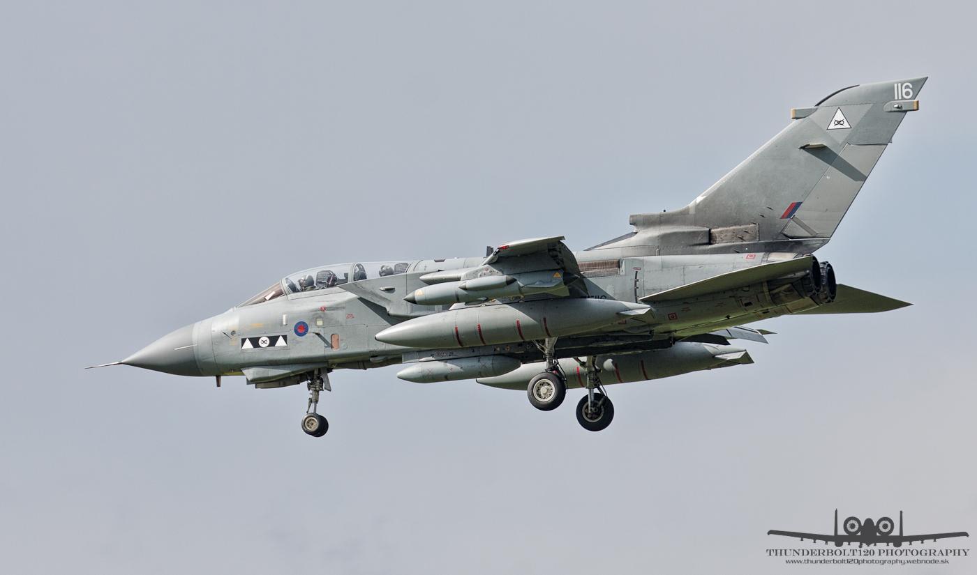 Panavia Tornado GR4 ZE116