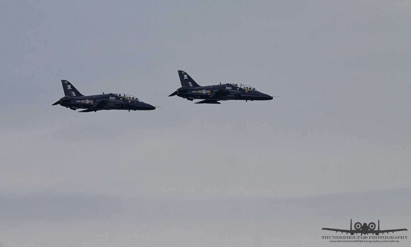 2x BAE Hawk T1A
