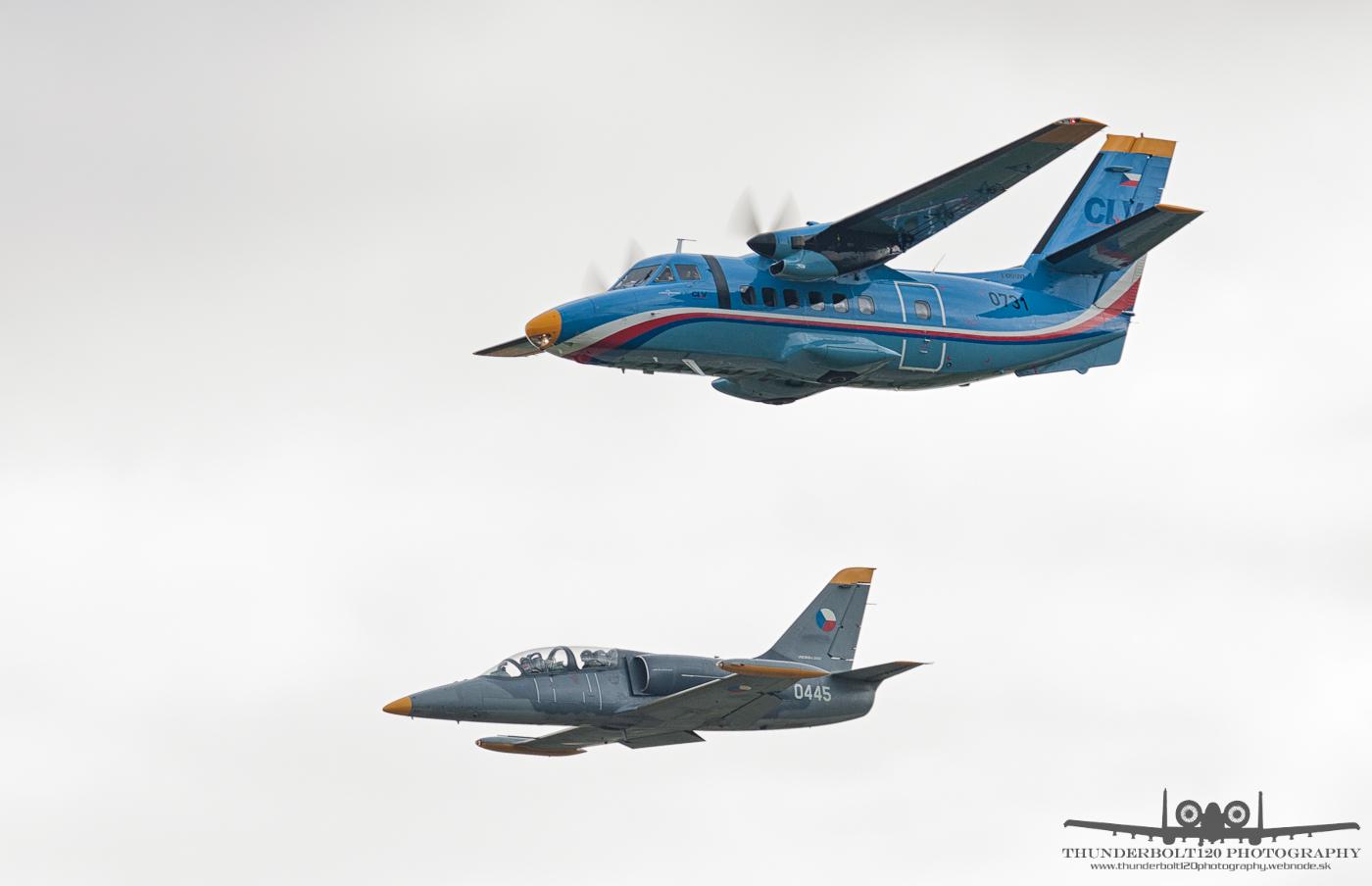 L-410UVP and L-39C Albatros