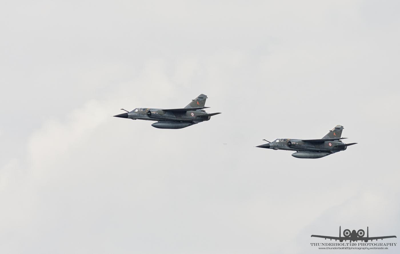 2x Mirage F1CR
