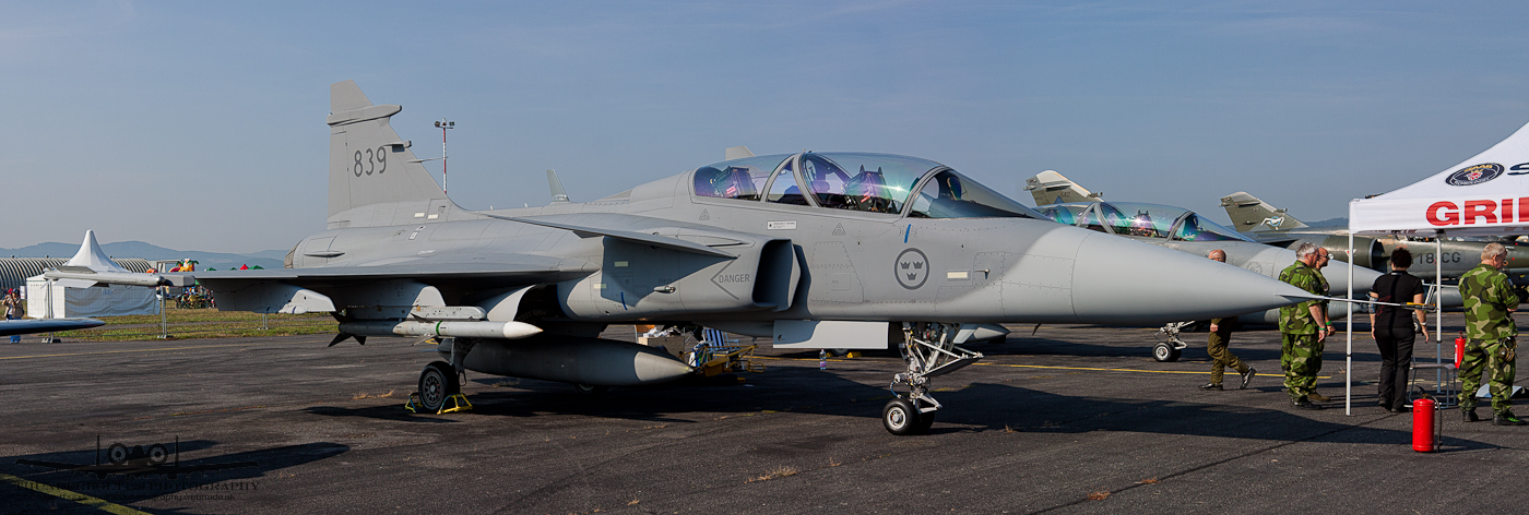SAAB JAS-39D Gripen 839
