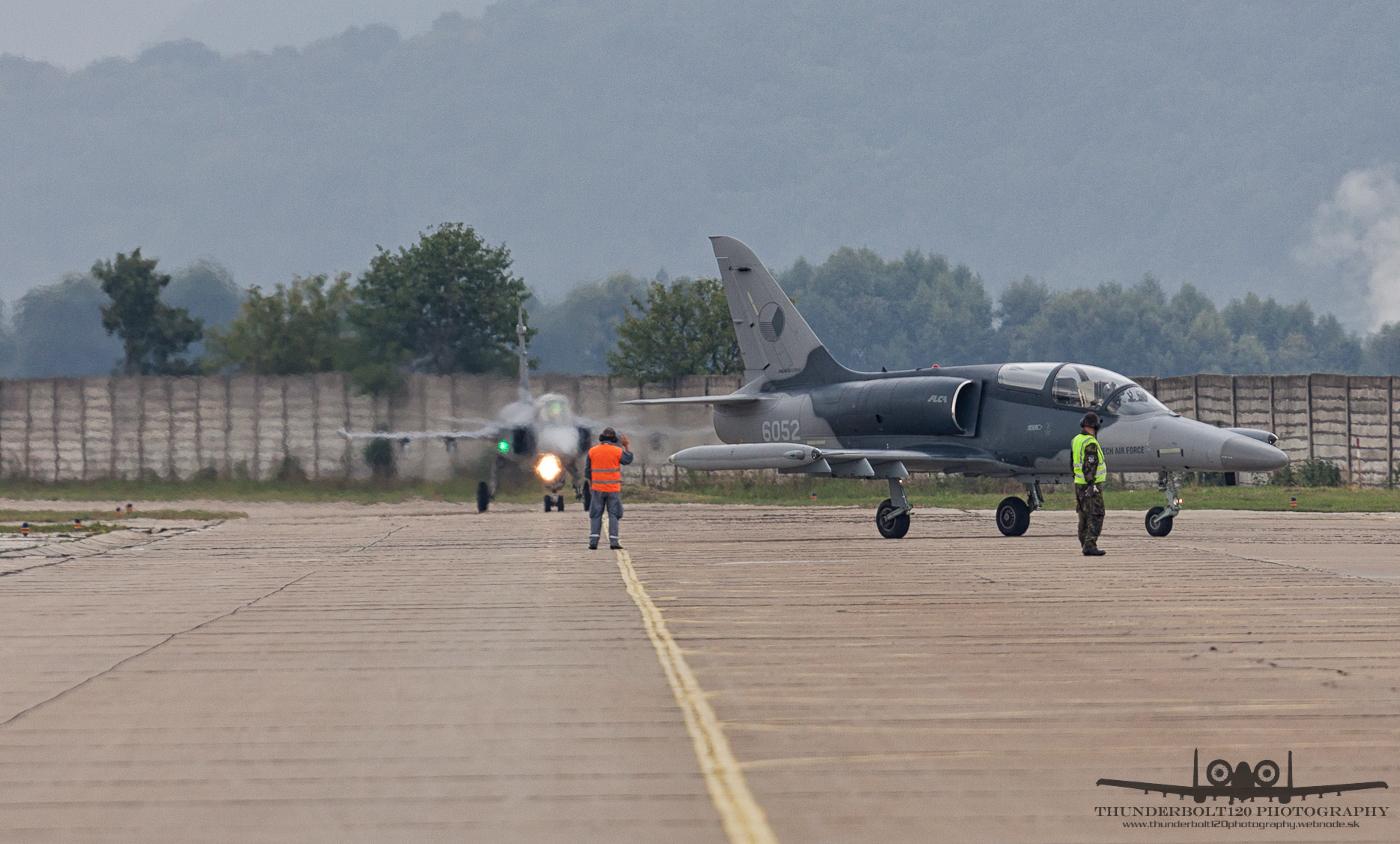 L-159 and JAS-39C Gripen