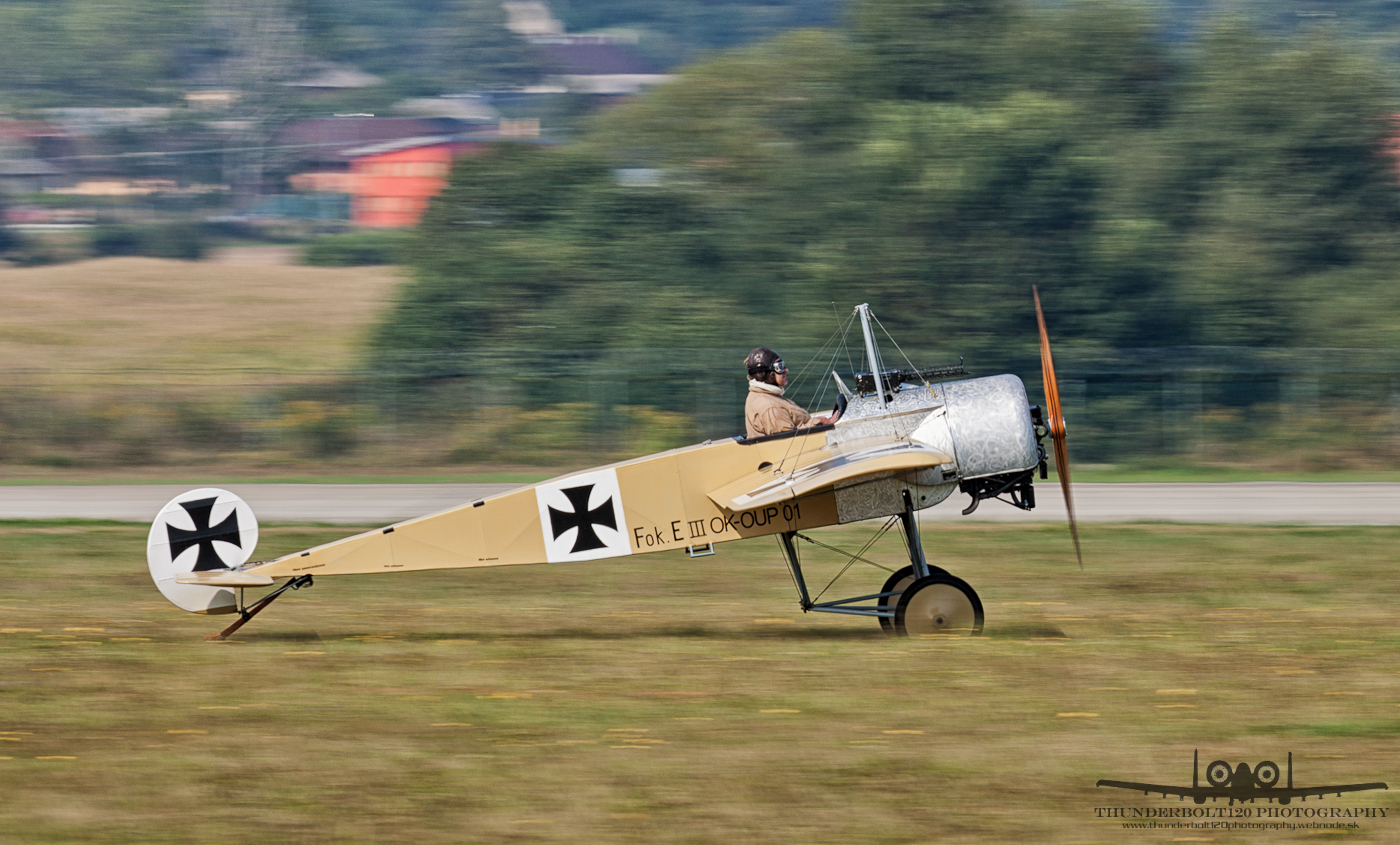 Fokker E III OK-OUP-01