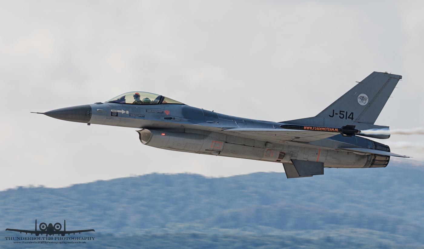 Fokker F-16AM Fighting Falcon J-514