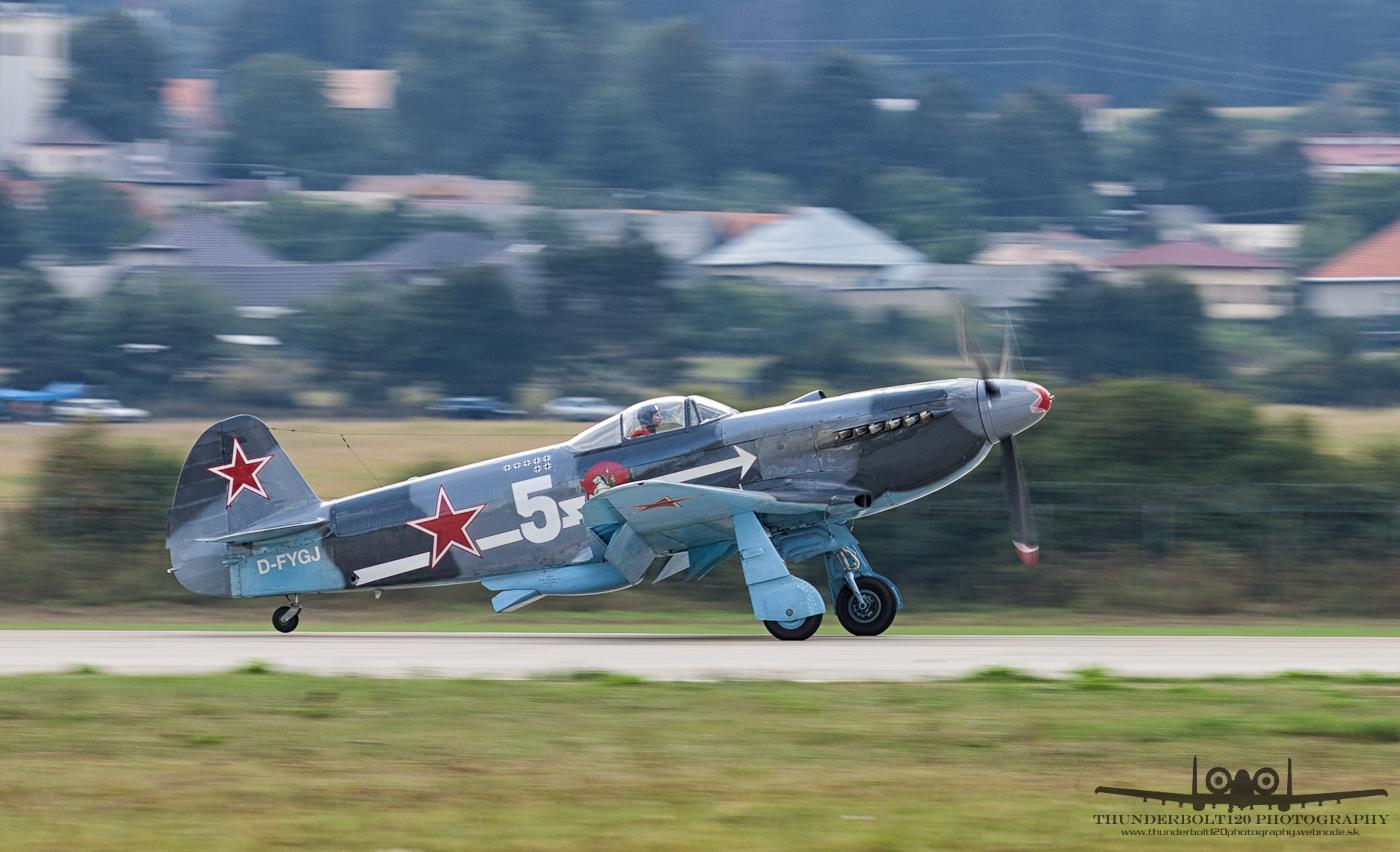 Yakovlev Yak-3UA D-FYGJ