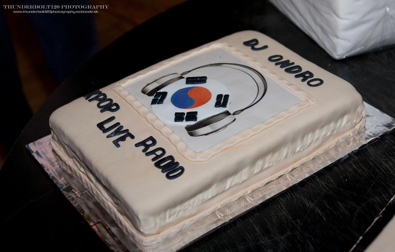 DJ Ondro cake
