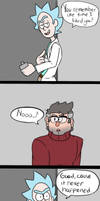 Gravity Falls x Rick and Morty: Never Gonna Happen by JodieDoe