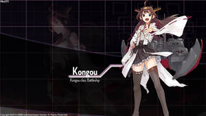 [Kantai Collection] Kongou Wallpaper by shadowmilez