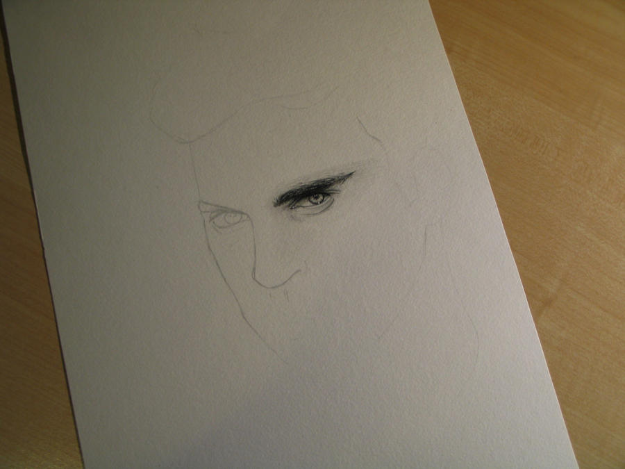 Joaquin Phoenix WIP 2 by Madame-Lullaby