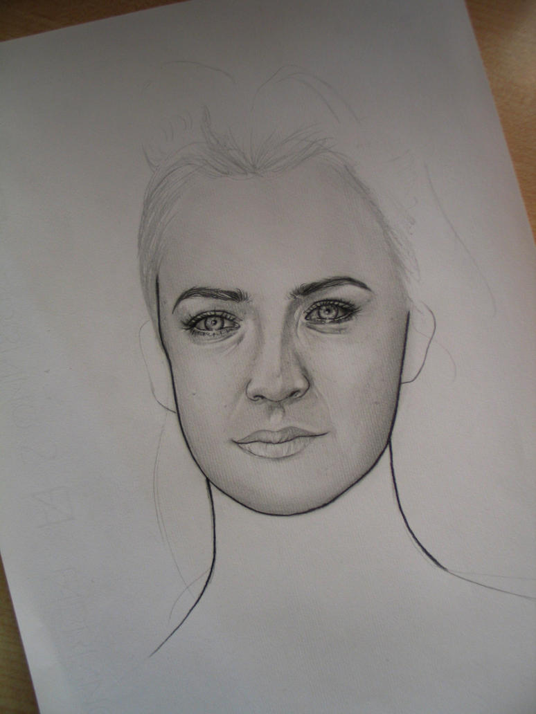 Saoirse Ronan Portraits WIP 2 by Madame-Lullaby