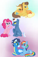 Pony Love by Ojos-Color-Bosque