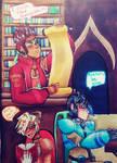 The maverick hunter library by Jiangguo