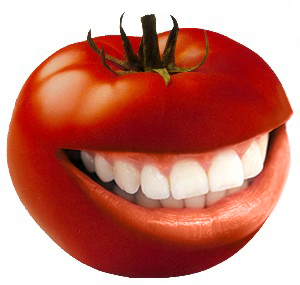 Happy tomato by tomabin