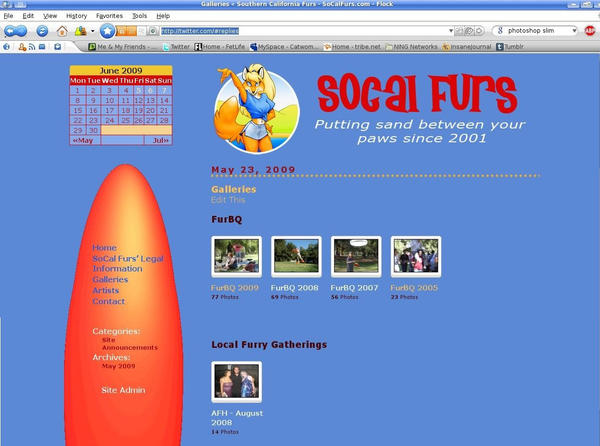 WP Template: SoCalFurs by Catwoman69y2k