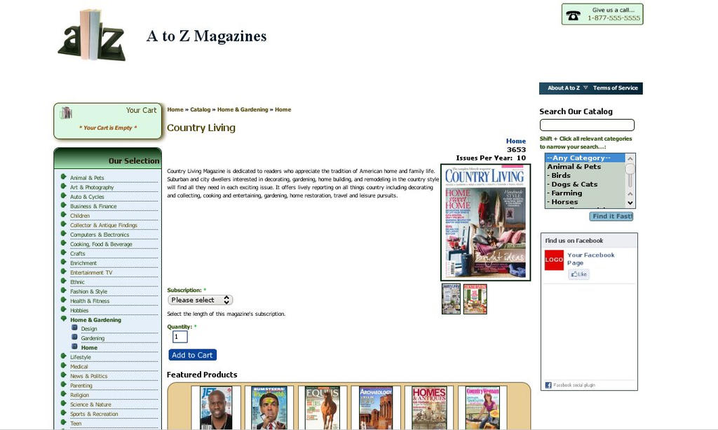 A to Z Magazines (2013) by Catwoman69y2k
