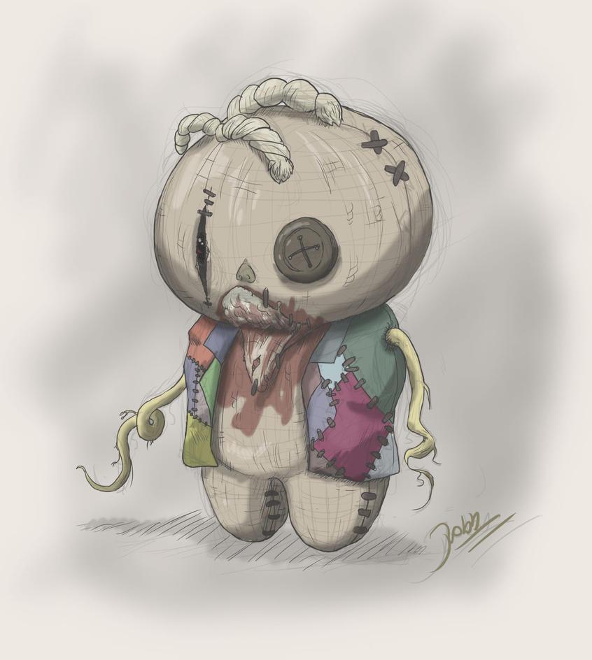 Creepy doll by HatPup on DeviantArt