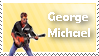 George Michael Stamp by whamazingSTAMPS