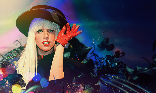 Gaga number 50 by Thez-Art