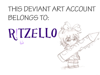 This account belongs to... by Ritzello