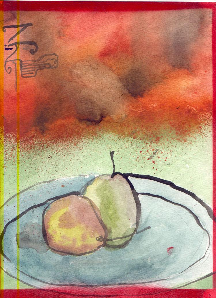 Freuit in Watercolor
