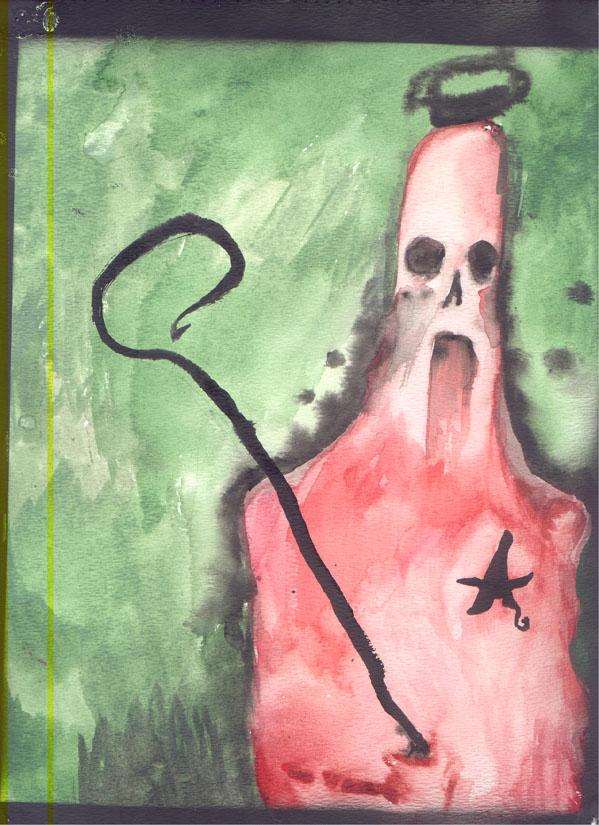 Oekaki en watercolor