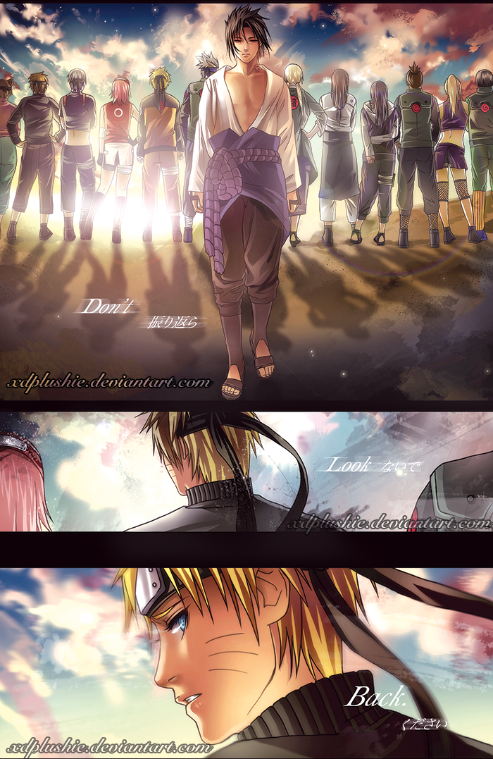 NARUTO: distance by miho-nyc