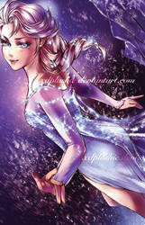 Ice Queen Elsa by miho-nyc