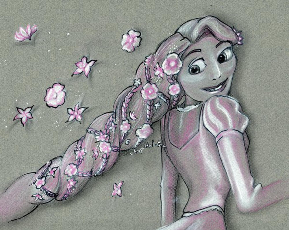 Disney Princess: Raiponce by SandraChapdelaine