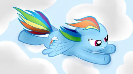 It's Rainbow Dash!