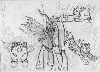 Hungry Changelings SKETCH